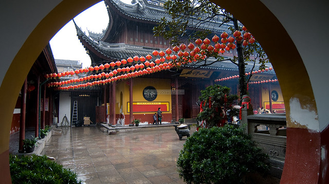 Shanghai 2010 (06 Mar) 23 - Yufo Temple and Old Movie Coffee by hto2008