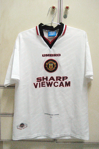 Manchester United 1996-1997 Away S/S