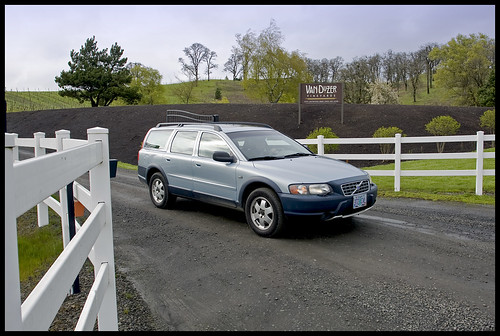 2002 Volvo XC70 at Van Duzer Winery