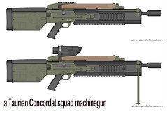 Taurian Concordat mg (timberfox15) Tags: gun rifle rpg machinegun pmg battletech