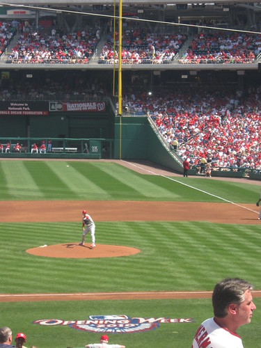 Roy Halladay - Philadelphia Phillies at Washington Nationals 5 April 2010