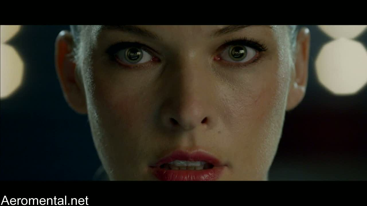 Resident Evil Afterlife Alice eyes