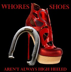 Whoreshoes logo (CeasarHound) Tags: ladies shoes whore horseshoes