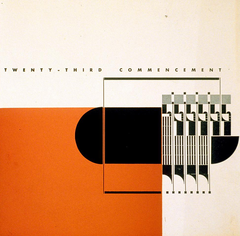 Beverly Hills High School - 23rd commencement (Alvin Lustig,  1940)a