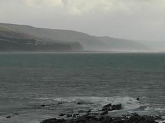 Irish Sea (Andy WXx2009) Tags: seascape beach water wales landscape coast europe waves artistic shoreline cliffs aberystwyth irishsea mygearandme