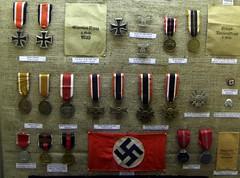 Выставки в военном музей, остров Джерси