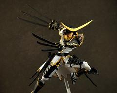 Revoltech Date Masamune (Limited White Ver.) (_Chag) Tags: toy actionfigure kaiyodo datemasamune revoltech jfigure sengokubasara
