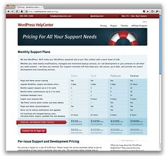 WordPress HelpCenter Support Packages