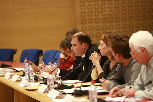 Table ronde avec les associations de chômeurs et de salariés précaires