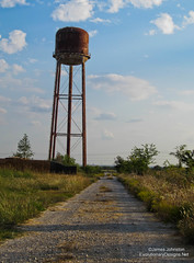 Old Abandoned Water Tower 3 (element321) Tags: abandoned watertower rusty