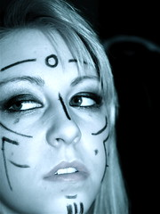 Tribal Make-up (starchild5mc) Tags: tribal