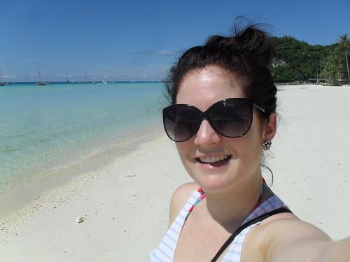 Lauren in Boracay