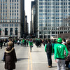 In and Out (Andy Marfia) Tags: chicago iso200 loop stpatricksdayparade f38 jacksonblvd d7100 13200sec 1685mm