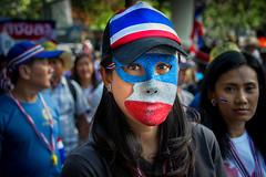 Shutdown Bangkok Protest (~El Vaquero~) Tags: thailand siam nakhonnayok thai asian culture th764 shutdown bangkok protest