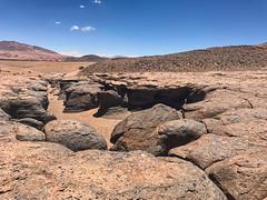 Atacama rocks. (david takes photos) Tags: losflamencosnationalreserve reservanacionallosflamencos riochico atacama chile sanpedrodeatacama regióndeantofagasta x