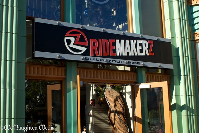 RIDEMAKERZ opens at Disneylands Down Town Disney by Imagineering My Way