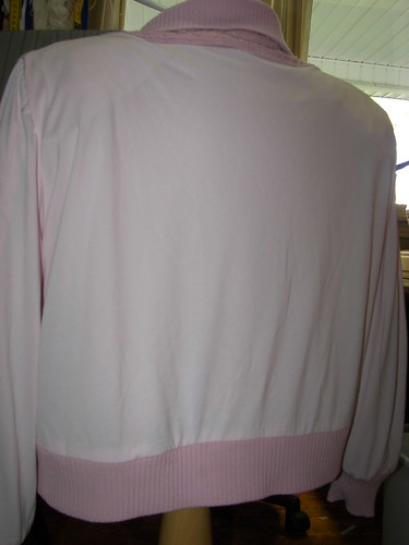 Pink Power Dry Lining with Smooth Side Toward the Body
