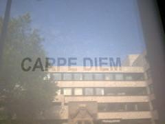 Carpe Diem (Lake_Effect_Kid) Tags: reflextion carpe diem