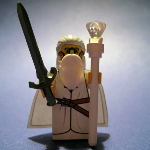 Gandalf the White custom minifig