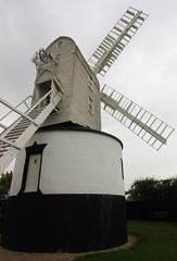 Saxtead Mill, Saxtead Green, Suffolk (martin97uk) Tags: uk england green mill windmill suffolk post wind saxtead