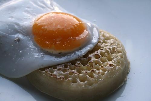 Egg Crumpet