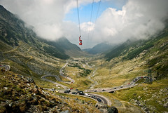 Transfagarasan (D.LOS) Tags: road travel mountains green car clouds high nikon rocks europe lift cola air elevator cable valley romania cablecar cocacola 1855 trans nikkor coca topgear fagaras transfagarasan d40x fagarasan greatestroadintheworld