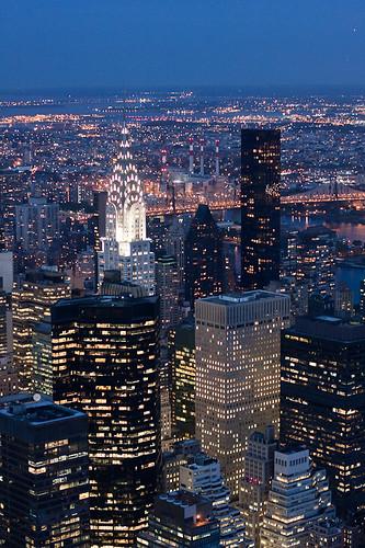 Las luces de Nueva York