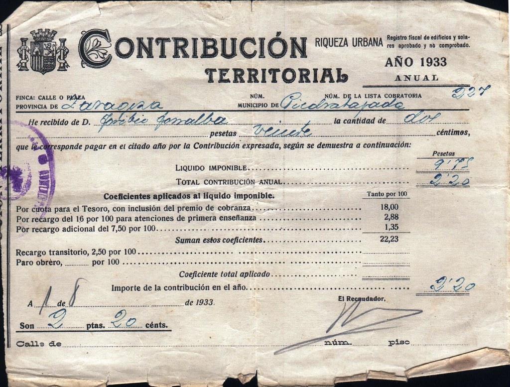 Contribución Territorial_1933_1