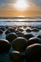 sun worshipers (Mike Rosati Photography) Tags: sunset highway1 bowlingballbeach rosati schoonergulch