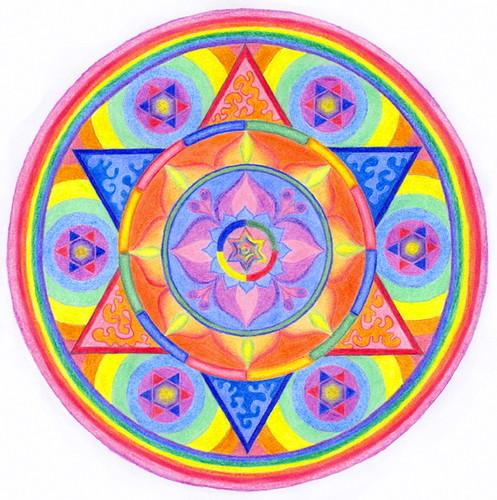 Mandala por Yinon.P..