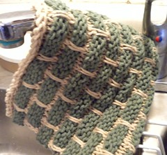 Another dishcloth for Mom