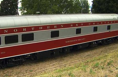 Private Rail Cars - Northern Dreams - exterior