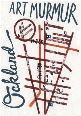 Art Murmur Map
