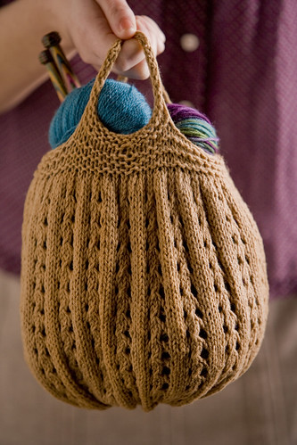 Knitting Project Bag by Michelle Miller