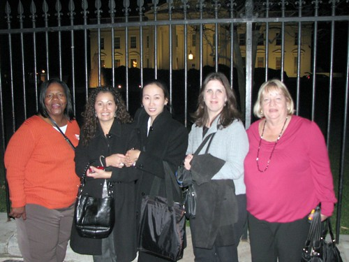 Lisa Huynh|Capitol Hill November 2009 with Educators 078