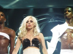 Video Music Awards 2011: Lady Gaga Touched Herself to Britney Spears Posters