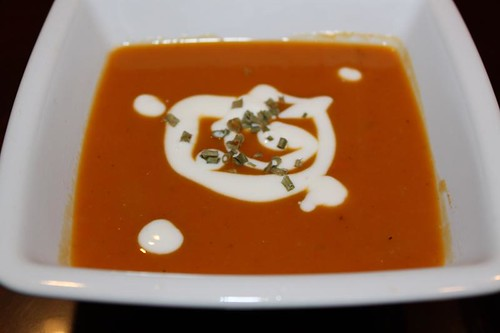 butternut squash chestnut soup