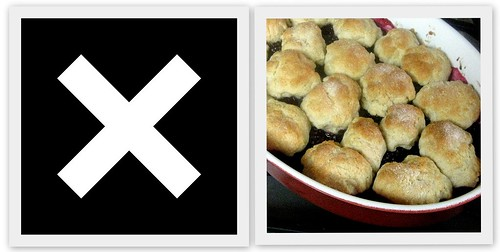 4155105663 86e4e59582 Musical Pairings: The xx   XX (paired with blackberry sour cream cobbler)