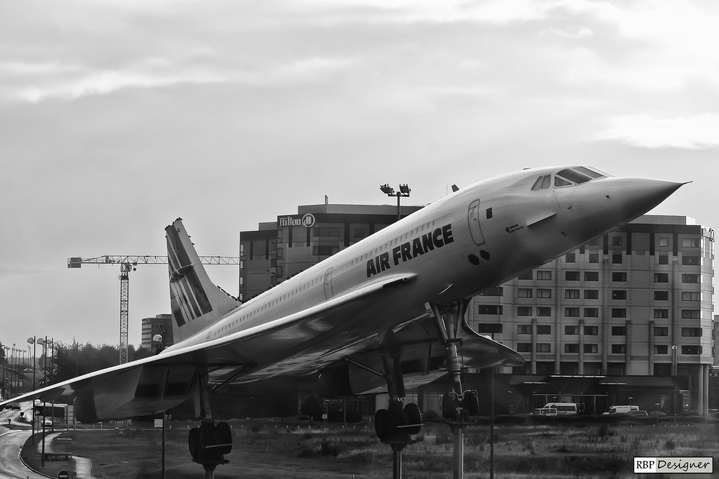 Aerospatiale-British Aerospace Concorde 101 Aircraft