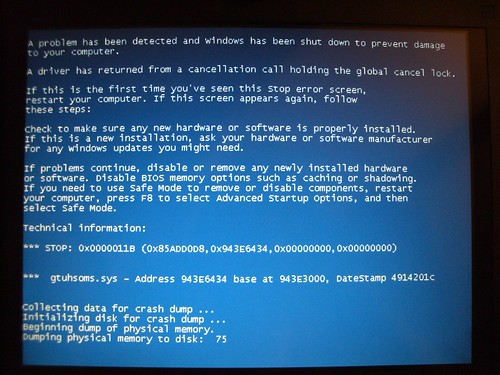 Blue Screen Of Death (Part 1)