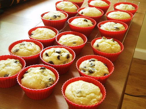 ricotta muffins - 17