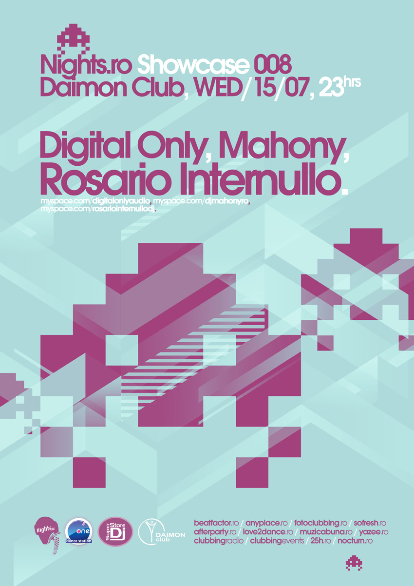 nights.ro showcase 008 poster - internullo