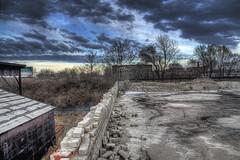 Abandoned Silo - Dayton, OH 06 HDR (billmclaugh) Tags: city ohio urban abandoned photoshop canon rebel graffiti silo urbanexploration silos tamron hdr highdynamicrange dayton urbex xti 1750mm lucis3d