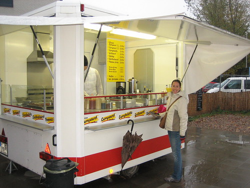 Currywurst Cart in Berlin