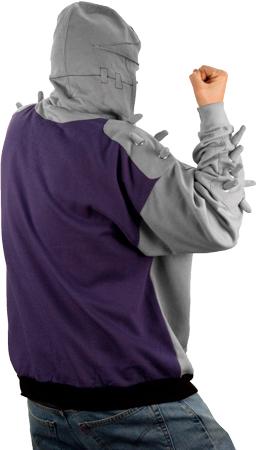 "TMNT ""Shredder"" Hooded Sweatshirt ii (( 2009 )) [[ Via 80s Tees , Thanks 2 DON Y. ]]"