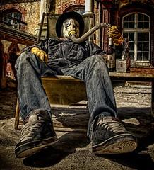 Nice Urbex Holidays! (Batram) Tags: urban holiday abandoned hospital relax mask decay gas urbanexploration sanatorium exploration hdr urbex berlinerpilsner beelitz batram jonib heilstätten veburbexthuringia stasimann stasiman besserundtrinkbareralsschultheiss undf6wowwillnepackungeckstein