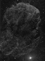 IC443 (kemyers91384) Tags: ha ic443 jellyfishnebula Astrometrydotnet:status=solved stl11k dsirc10c problemhaloes blackbuttelakestarparty Astrometrydotnet:version=14400 Astrometrydotnet:id=alpha20100441178773