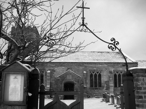 St. Catherine's in the snow