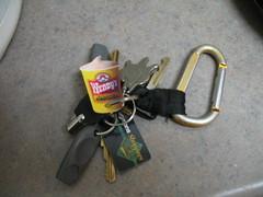 Free Frosty Keychain (ArmAth256) Tags: dc fastfood wendys