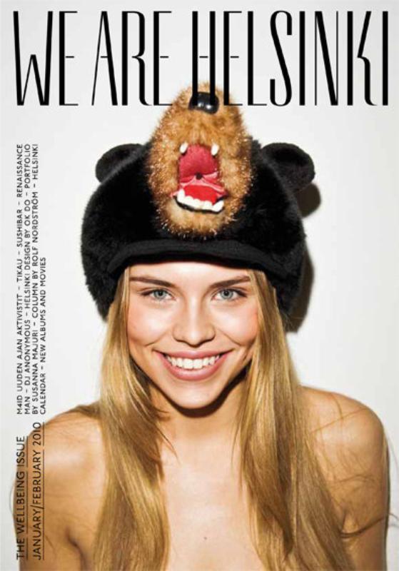 We Are Helsinki magazine cover